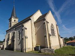 Chey (Deux-Sèvres) église, extérieur.JPG