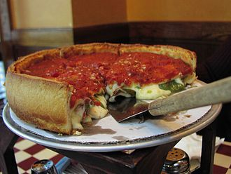 Chicago-style pizza - Stuffed pizza from Giordano's