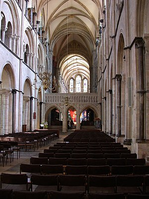 Diocese of Chichester - The nave of Chichester Cathedral