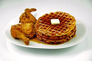 Chicken and waffles - Chicken and waffles