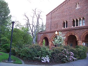 California State University, Chico - Chico State campus: Laxson Auditorium