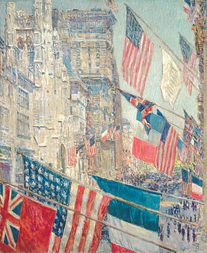 Alliance - Allies Day, May 1917, National Gallery of Art