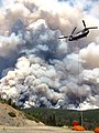 Chinook Helicopter at 2016 Rail Fire, Wallowa Whitman National Forest (29173191036).jpg