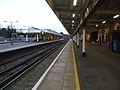 Chislehurst station slow look north2.JPG
