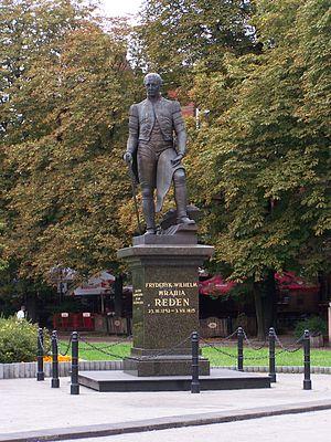 Friedrich Wilhelm von Reden - Monument to Friedrich Wilhelm von Reden on Market square, Chorzów.