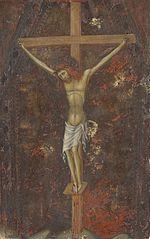 Christ on the Cross [reverse]
