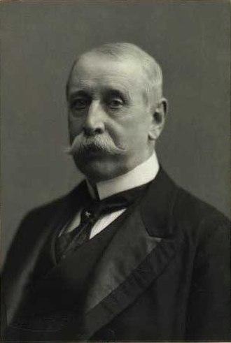 Christian Conrad Sophus Danneskiold-Samsøe (1836-1908) - Christian Conrad Sophus Danneskiold-Samsøe by Carl Sonne