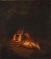 Christian David Gebauer - Skovparti med en egernfamilie.png
