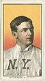 Christy Mathewson, New York Giants, baseball card portrait LCCN2008676494.jpg