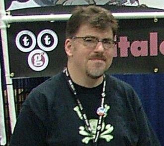 Chuck Jordan (game designer) - Chuck Jordan at Comic-Con 2007
