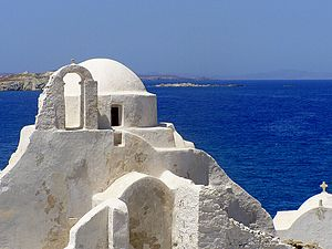 English: Church of Paraportiani, Mykonos