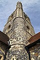 Church of St Nicholas, Ash-with-Westmarsh, Kent - tower stair turret.jpg