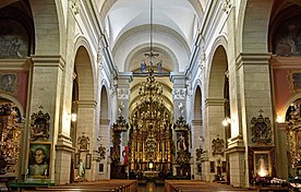 Church of the Visitation of the Blessed Virgin Mary (interior), 19 Karmelicka street, Krakow, Poland.jpg