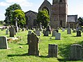 Churchyard, St. Michael and All Angels, Mitcheldean - geograph.org.uk - 535600.jpg