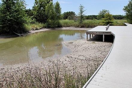Cibolo Nature Center Teaching Garden Barn Map
