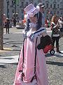 Ciel Phantomhive in pink dress cosplayer at 2010 NCCBF 2010-04-18 4.JPG