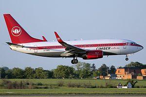 Cimber Sterling Boeing 737-700