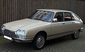 Image illustrative de l'article Citroën GS et GSA