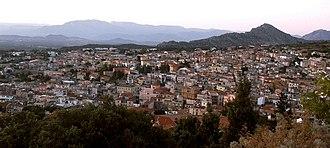 Dorgali - Image: Città di Dorgali