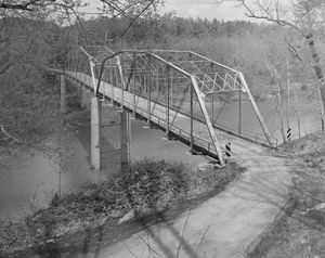National Register of Historic Places listings in Charlotte County, Virginia - Image: Clarkton Bridge
