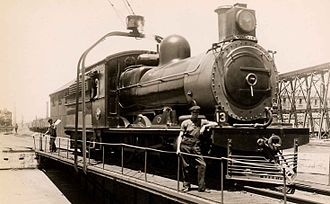 1897 in South Africa - SAR Class 6B