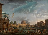 Claude-Joseph Vernet - A Sporting Contest on the Tiber - c 1750 - National Gallery UK.jpg