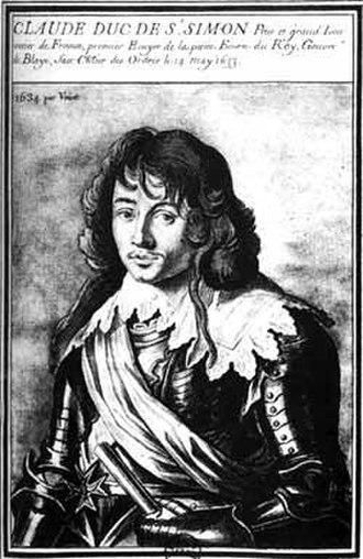 Vidame de Chartres - Claude de Rouvroy, duc de Saint-Simon, father of the memoirist