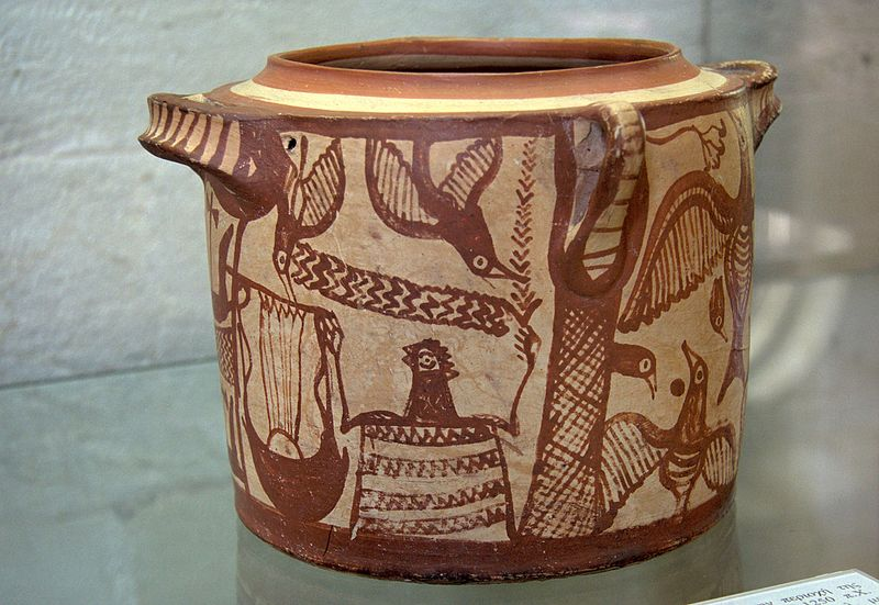 File:Clay pyxis, Minoan funeral ceremony, Aptera, 1300-1250 BC, AM Chania, 076150.jpg