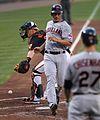 Cleveland Indians center fielder Grady Sizemore (24) (5942027912).jpg