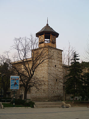 Clock-tower-of-Sliven