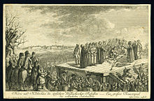 Drawing of well-attended execution