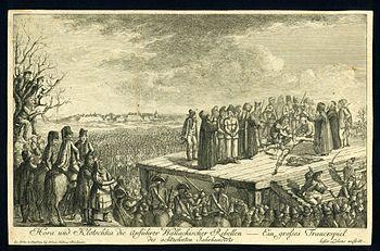 Execution of Horea and Cloșca