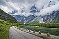 Cloudy Romsdalen and Trolltindene, Møre og Romsdal, Norway in 2013 June.jpg