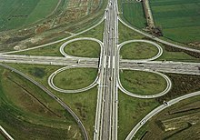 Svincolo autostradale a quadrifoglio