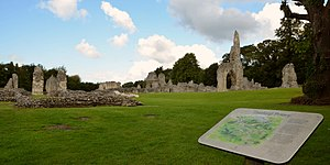 Thetford Priory - The remains of Thetford Priory in 2017