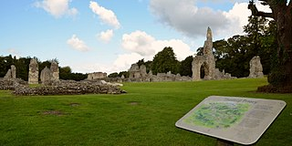 Thetford Priory Grade I listed priory in Breckland District, United Kingdom