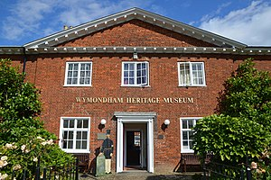 Wymondham Bridewell - Wymondham Heritage Museum in September 2017