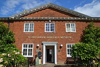 Wymondham - Wymondham Heritage Museum in September 2017