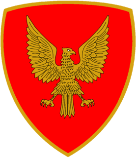 Mantova Mechanized Brigade various Italian Army units, the last of which was disbanded in 1997
