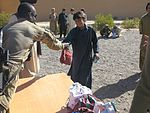 Coalition forces distribute school supplies in Zabul province 111001-A-JD187-004.jpg