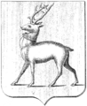 Coat of arms of Rostov Principality (1857).png