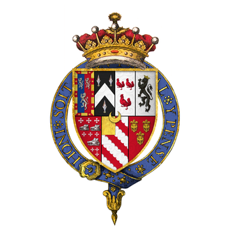 William Herbert, 1st Earl of Pembroke (died 1570) - Arms of Sir William Herbert, 1st Earl of Pembroke, KG
