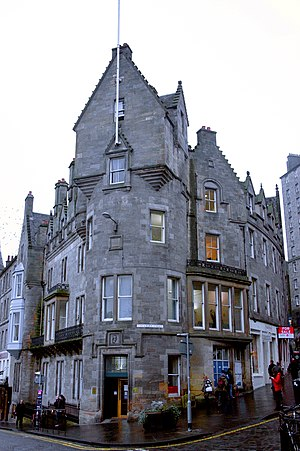 John Dick Peddie - Image: Cockburns Hotel at the foot of Cockburn Street, by Peddie & Kinnear
