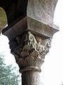 Codalet (66) Abbaye Saint-Michel de Cuxa Cloître Chapiteau 14.JPG