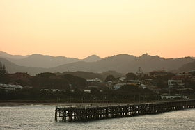 Le port de Coffs Harbour