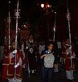 Cofradía de la Oración de Nuestro Señor en el Huerto de los Olivos y María Santísima de la Amargura, Granada, Semana Santa 2009 (25).JPG