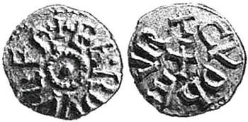 Coin issued by Eardwulf