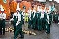 Colorado State University Marching Band, Colorado, USA - Getting Ready For The 2013 Patrick's Day Parade (8566946776).jpg