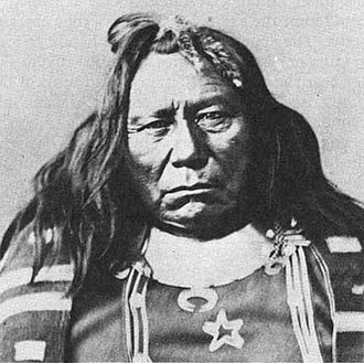 Colorow (Ute chief) - Chief Colorow, chief of a Ute band