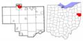 Columbiana County Ohio Highlight Salem.png